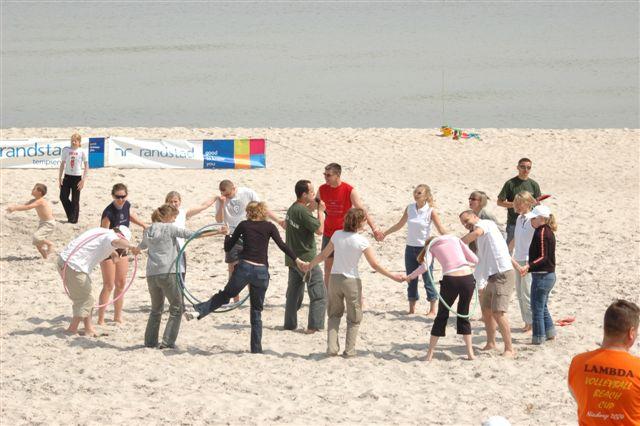 plażowa impreza firmowa